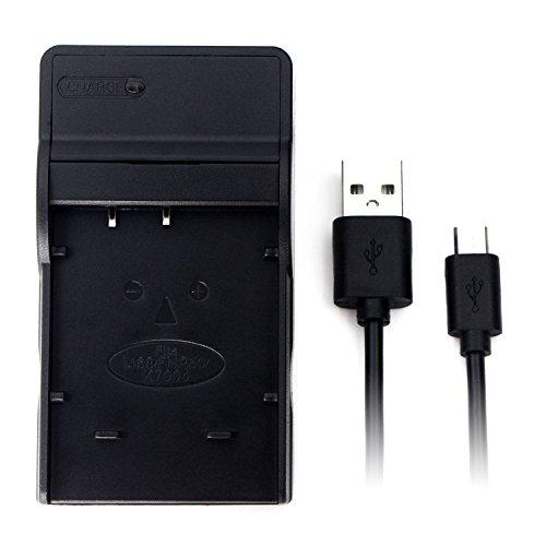 NP-50 USB Cargador para Fujifilm FinePix F200EXR, F300EXR, F500EXR, F550EXR, F660EXR, F750EXR, F770EXR, F800EXR, F80EXR, F850EXR, F900EXR, X10, X20, XP100, XP150, XP170, XP200 Batería de la cámara y más