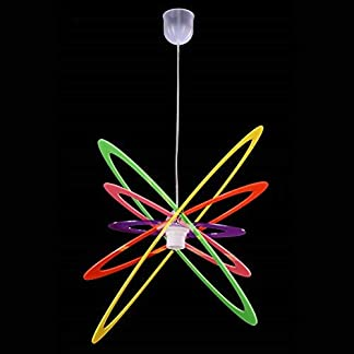 Lampadario a Sospensione Stile Moderno In Plexiglass Colori a Scelta Camera da Letto Soggiorno