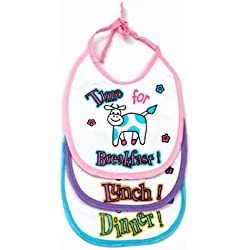 Little's Baby Bibs (Multicolour)