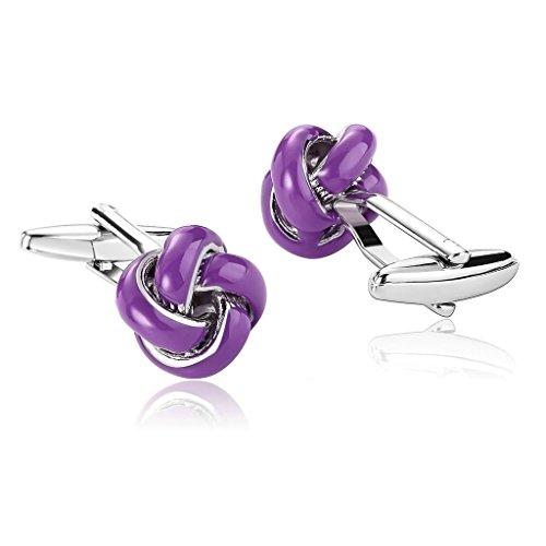 adisaer-stainless-steel-cufflinks-for-men-polished-love-cufflink-knot-purple-business-wedding-cuffli