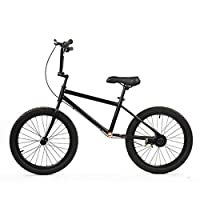 58SD Mom/Dad/Adult No-Pedal Balance Bike, Black, 20 inch, Ages 10 Years & Up ( Size : BHEPALHE )