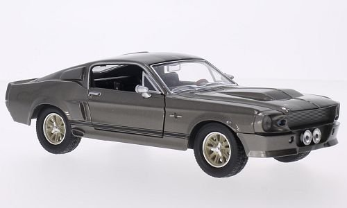 ford-mustang-shelby-gt500-metallic-gris-noir-gone-in-sixty-seconds-eleanor-1967-voiture-miniature-mi