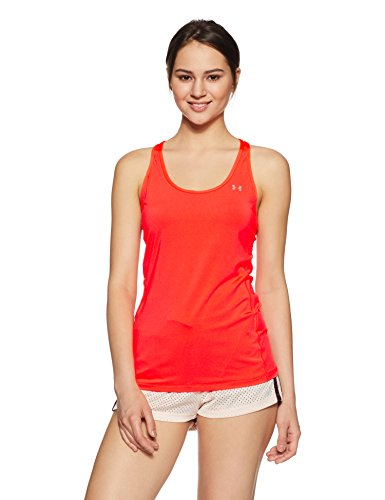 Under Armour Damen Hg Armour Racer Fitness-T-Shirts & Tanks, Marathon Red, M
