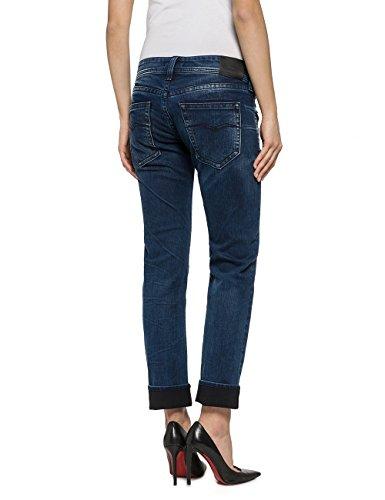 Replay Damen Jeanshose Kolen Blau (Blue Denim 9)