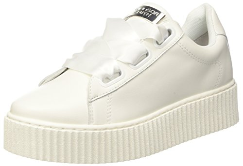 Windsor Smith Olyvia, Sneaker Donna, Bianco (Leather White), 38 EU