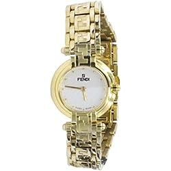 Fendi Reloj de pulsera para mujer Mod.770chapado en oro