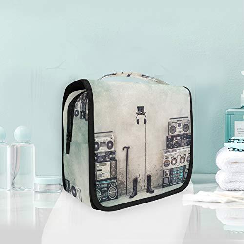 utel, Reisetasche, Kosmetiktasche, zum Aufhängen, Make-up-Tasche, Multifunktions-Aufbewahrungstasche, tragbare Kulturtasche für Frauen und Mädchen ()