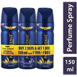 Park Avenue Body Deo, Good Morning, 100/150ml (Pack of 2) with Free Body Deo, Storm, 100/150g (300/450 ml)