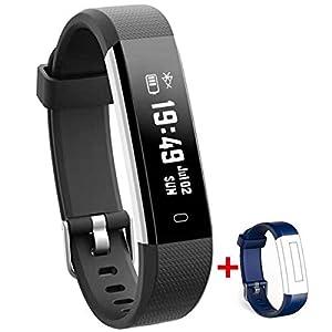 Nakosite RAY2433 Reloj inteligente Mujer Hombre SmartWatch pulsera Actividad