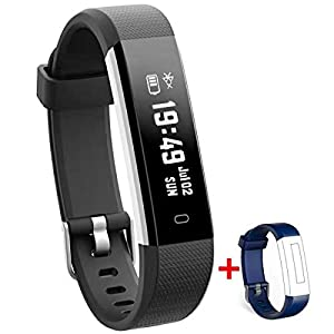 Nakosite RAY2433 Reloj inteligente Mujer Hombre SmartWatch pulsera Actividad relojes Inteligentes deportivo podometro… 1