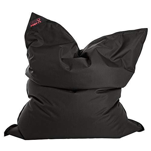SITTING POINT only by MAGMA Sitzsack Scuba Big Foot 130x170cm schwarz (Outdoor)