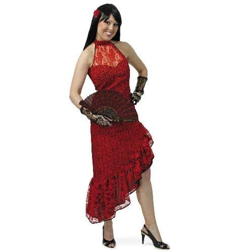 Erwachsene Damen Kostüm Für Spanierin - Carmencita Kleid Damen Kostüm Gr 40