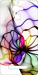 Go Hooked Designer Panasonic Eluga Mark Designer Back Cover | Panasonic Eluga Mark Printed Back Cover | Printed Soft Silicone Back Cover for Panasonic Eluga Mark