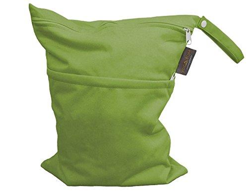 Yogabum Hot Yoga Borse - Borsa Wet Impermeabile (Green)