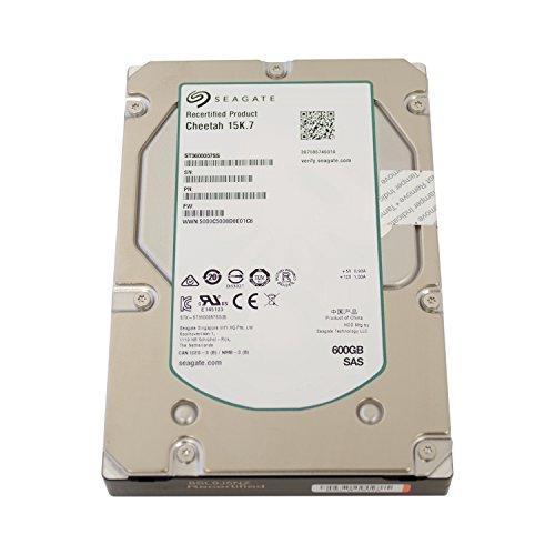 Seagate Cheetah 15K.7, SAS 6Gb/s Interne Festplatte 3,5 Zoll, 15000RPM, SAS - recertified, Kapazität:600GB