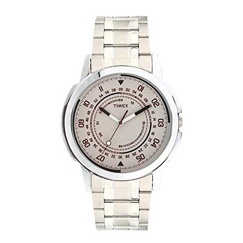 Timex Analog White Dial Men's Watch-TW000CP09