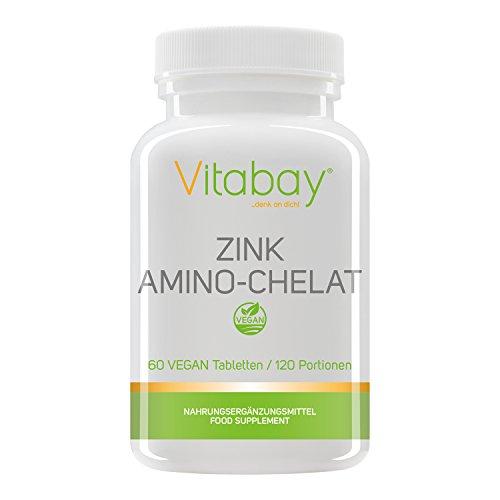 Opti Zink mit 30 mg Zink (Elementargehalt) - hochdosiert - 60 Tabletten