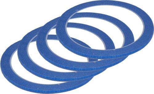 Set di 4 pezzi da 3 mm x 25 m, Mask Blue-Nastro adesivo di alta qualità, resistente ai raggi UV, nastri e rimuovere