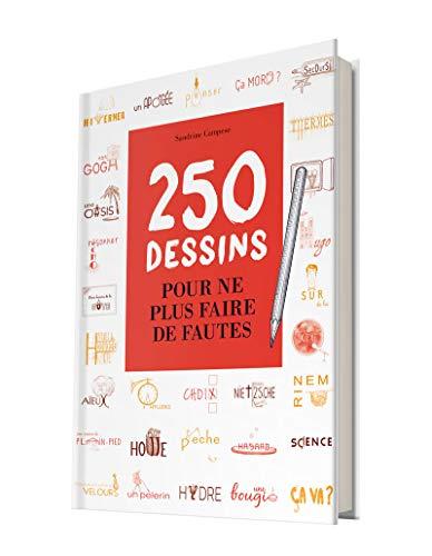 250 dessins pour ne plus faire de fautes par Sandrine Campese