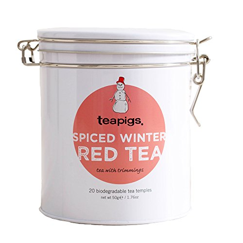 A photograph of Teapigs spiced winter red