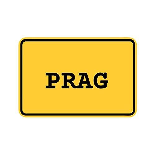 Preisvergleich Produktbild JOllify Aufkleber - PRAG – Farbe: Design: Ortsschild