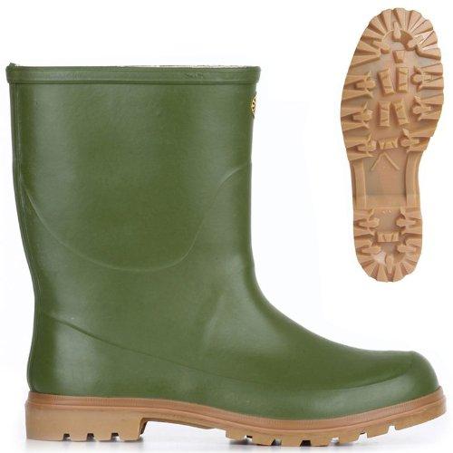 Stivali in gomma - 7133-tronchetto Alpina Olive