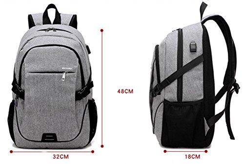 Keshi neuer Stil Damen accessories hohe Qualität Einfache Tasche Schultertasche Freizeitrucksack Tasche Rucksäcke Schwarz