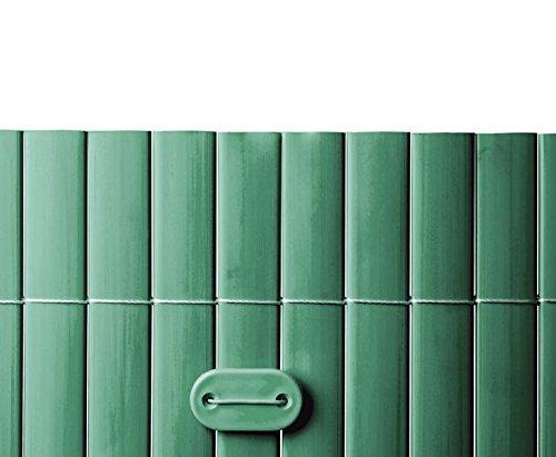 Befestigungsset für PVC Sichtschutzmatten grün, 26 Stück - N0001692 Sichtschutzzäune Sichtschutzwand Gartensichtschutz Balkonsichtschutz Winschutz Sichtschutzwand für Garten und Terasse Blichschutz für Balkon Sichtschutzwände Sichtschutzwände, WPC Sichtschutz </p> --> großes Sortiment an Sichtschutz, Bambus, Schilf und Naturprodukte für Garten