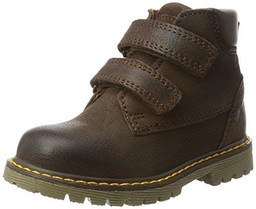 Bisgaard Unisex-Kinder Klettstiefel Combat Boots, Braun (302 Brown), 31 EU