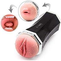 Precioso y kawaii Suave silicona real Coño Vagǐnal Cup Maiden artificial Vágǐna Oral Throat do * ck ing blowjob male Mastur ** Bator Sexcv-Toys for man * Light
