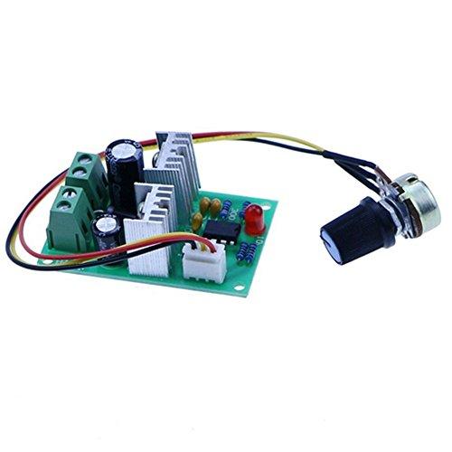 DaoRier 12V24V36V Miniatur-Regler PWM Leistung DC Motorv DC-Motor Drehzahlregler,1 Stück (Miniatur-dc-motor)