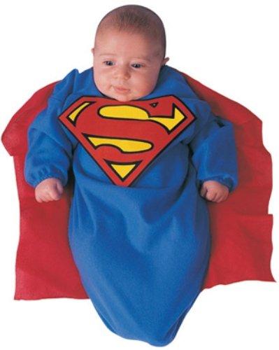 Baby Strampelsack Superman Cape Strampler Kleinkind Kind Babybekleidung Babykostüm Nachtzeug Schlafanzug (Capes Superman)