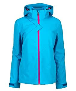 Spyder Women's Project Ski Jacket - Blue, Size 16