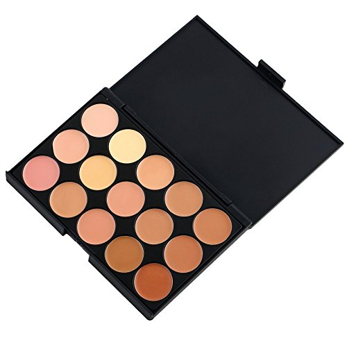 SHAFIRE™ 15 Colors Cream Concealer Highlight Face Contour Foundation Pallete