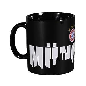 """FC Bayern München Kaffeetasse """"München"""" Fanartikel"""
