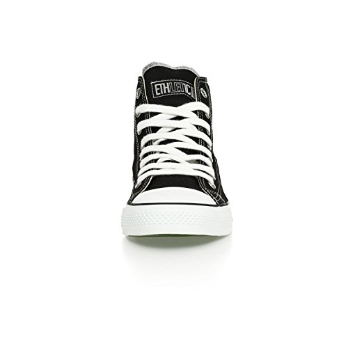 Ethletic Sneaker vegan HiCut – Farbe jet black / white aus Bio-Baumwolle – high Sneaker - 6