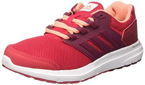 adidas Damen Galaxy 4 Laufschuhe, Mehrfarbig (Energy Pink F17/Collegiate Burgundy/Sun Glow S16), 39 1/3 EU (Galaxy-trainer)
