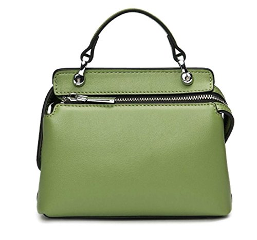 FZHLY Moda Versione Coreana Nuova Borsa In Pelle Di Shoulder Bag,GreenTea GreenTea