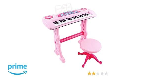 Deao tastiera elettronica per bambini pianoforte karaoke 37 chiavi