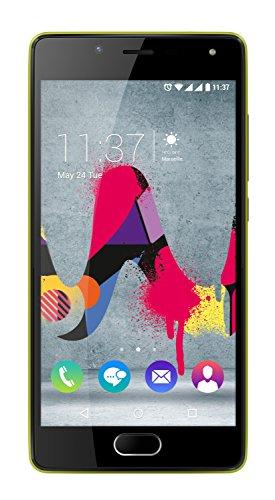 Wiko Ufeel Lite Smartphone, Dual-SIM, Memoria Interna da 16 GB, Giallo