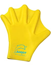 Surfit Silicone Paddle Gloves - Prenda, color amarillo, talla L