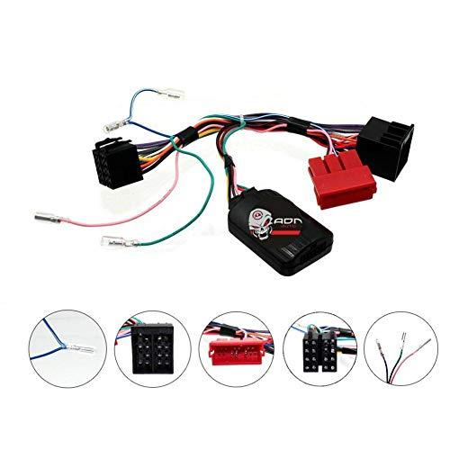 Interface Commande au volant KI2J pour Kia 09-12 Mini-ISO Sans ampli JVC ADNAuto