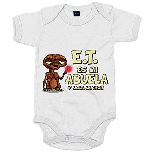 Body bebé E.T. esta es mi abuela y mola mucho ET El Extraterrestre -