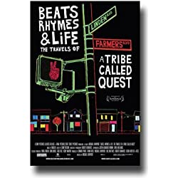 A Tribe Called Quest Poster - Movie Promo 11 X 17 for Beats Rhymes and Life by Concert Promoter911