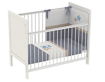 Polini para niños cuna cuna 120 x 60 cm simples 220 blanco, 3037-04