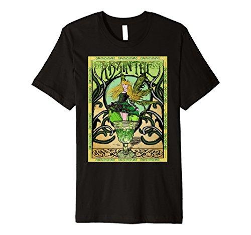 Vintage-Absinthe Poster Retro T-Shirt -