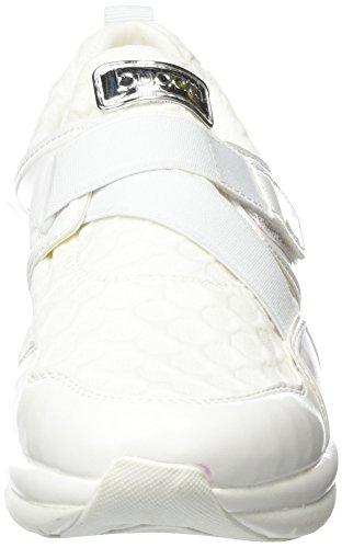 Bugatti J94646n6, Sneakers Basses Femme Blanc (Weiß 200)