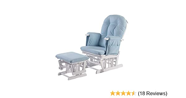 Kub® Haywood Reclining Nursing Glider and Footstool (Baby