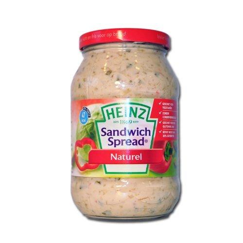 12 X Heinz Sandwich Spread - Herzhafter Brotaufstrich - 450g