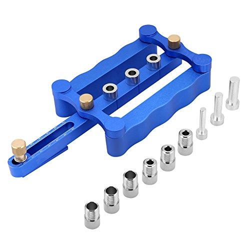 Doweling Jig Kit 6/8/10 mm Bohrhülsen selbstzentrierend Dübeln Jig Holz Bohrlöcher Kit Holzbearbeitung Handwerkzeuge